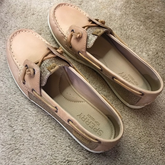 006192dc67aa Women's Sperry Coil Ivy Sparkle Boat Shoes. M_5b1965eb7386bc5d4d809af8